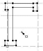 Буква «Г», созданная только из прямоугольников