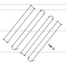 Виды линий с различными закруглениями