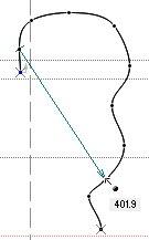Измерение расстояния между двумя точками