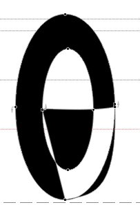 Пересчитанный контур после интерполяции