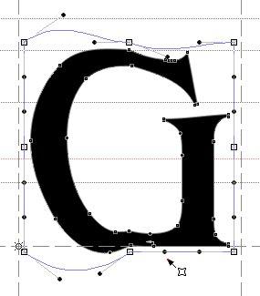 Искаженный символ в векторной рамке
